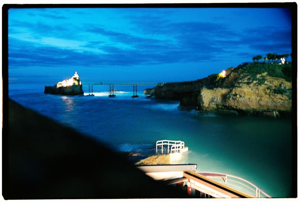 Biarritz au crépuscule