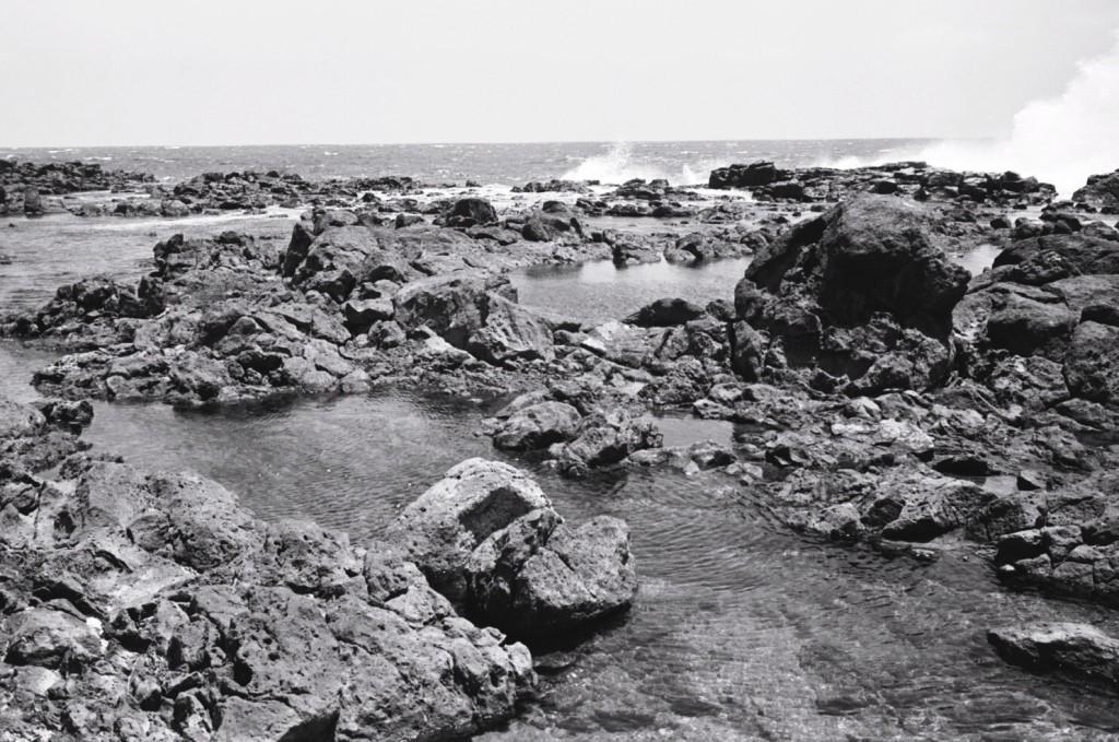 Des roches volcaniques témoignent du passé de tumultueux de Fuerteventura
