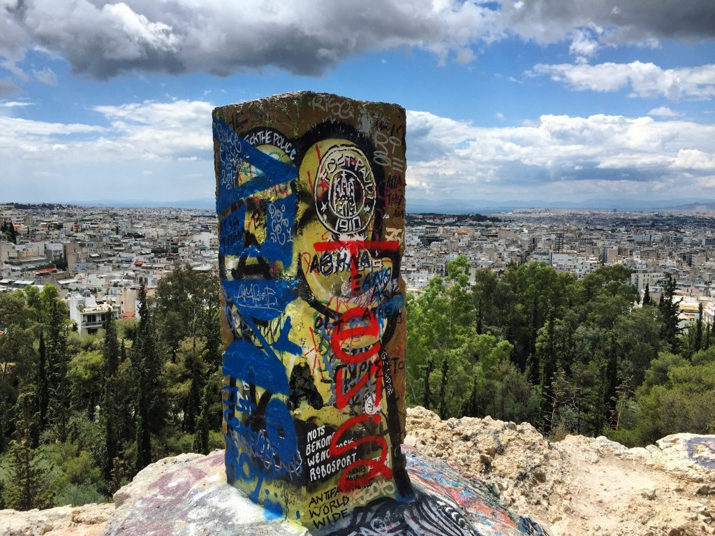 La capitale 100% street art, Athènes