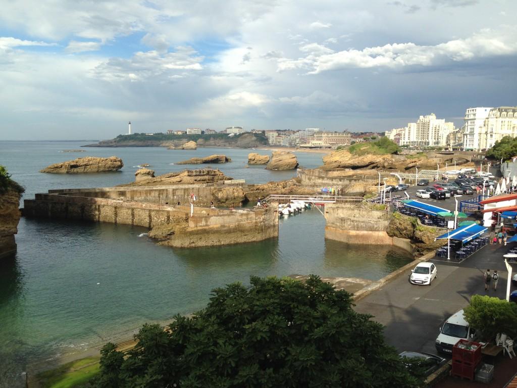 Le Petit port de Biarritz