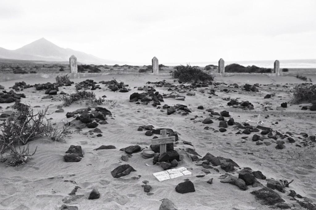Le cimetière marin de Cofete