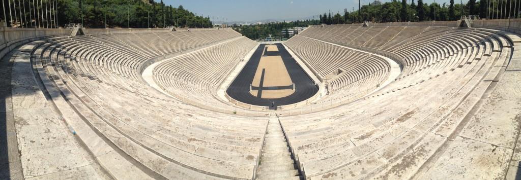 Le stade olympique d'Athènes