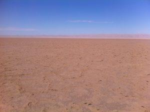 Kebili l'un des lieux les plus chauds de la planète situé dans le sud est du lac salé de Chott El Jérid
