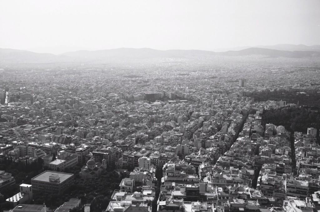 La colline du Lycabette offre un panorama sur toute la ville