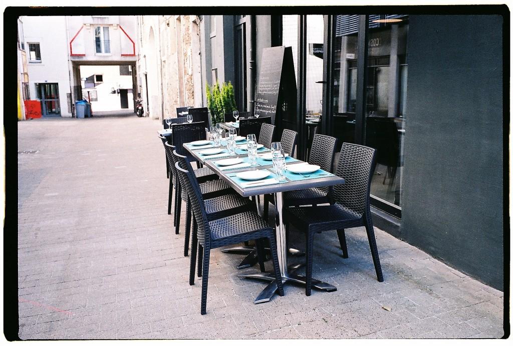 La rue Lekain à Nantes