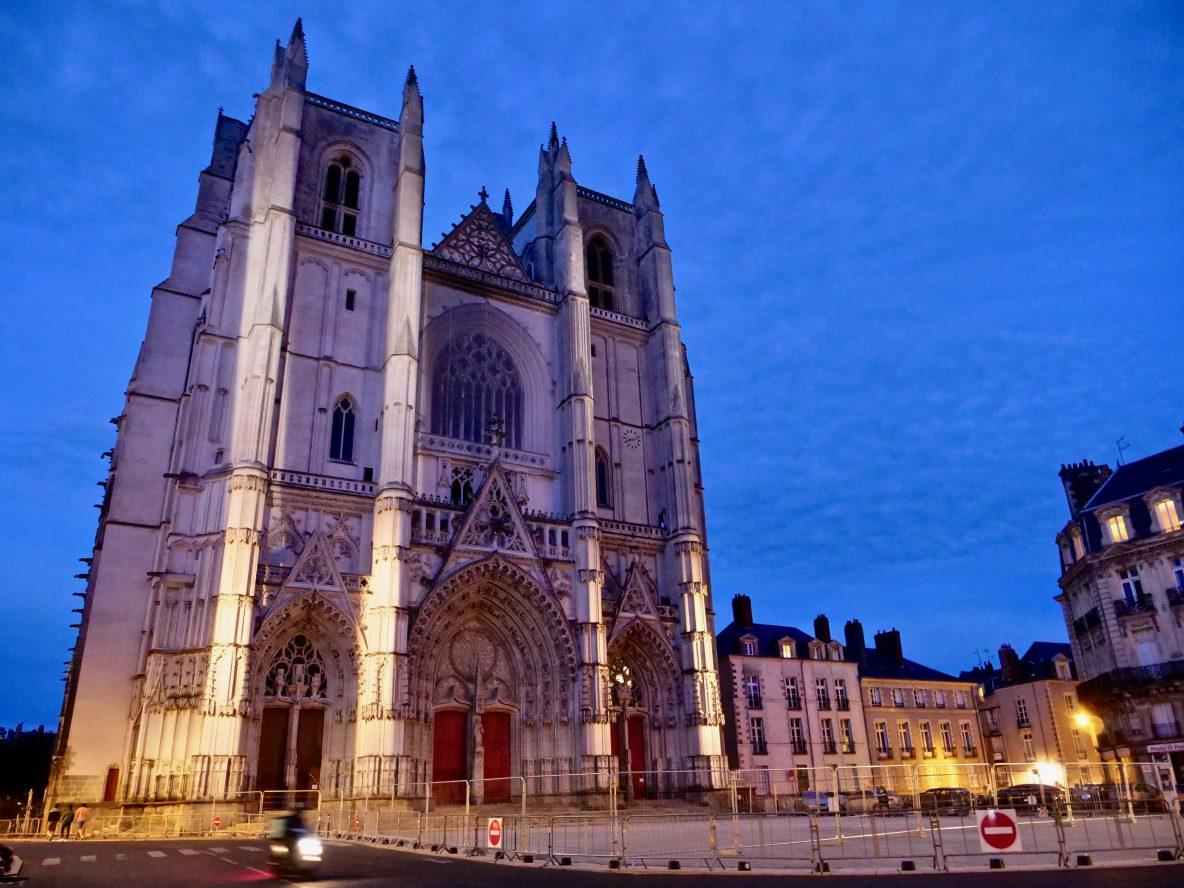 Nantes et la cathédrale Saint-Pierre et Saint-Paul