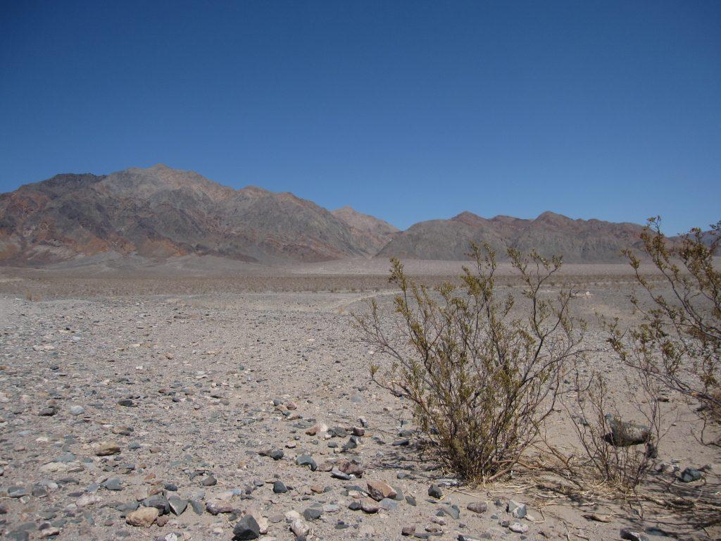 La vallée de la mort l'un des endroits les plus chauds de la planète