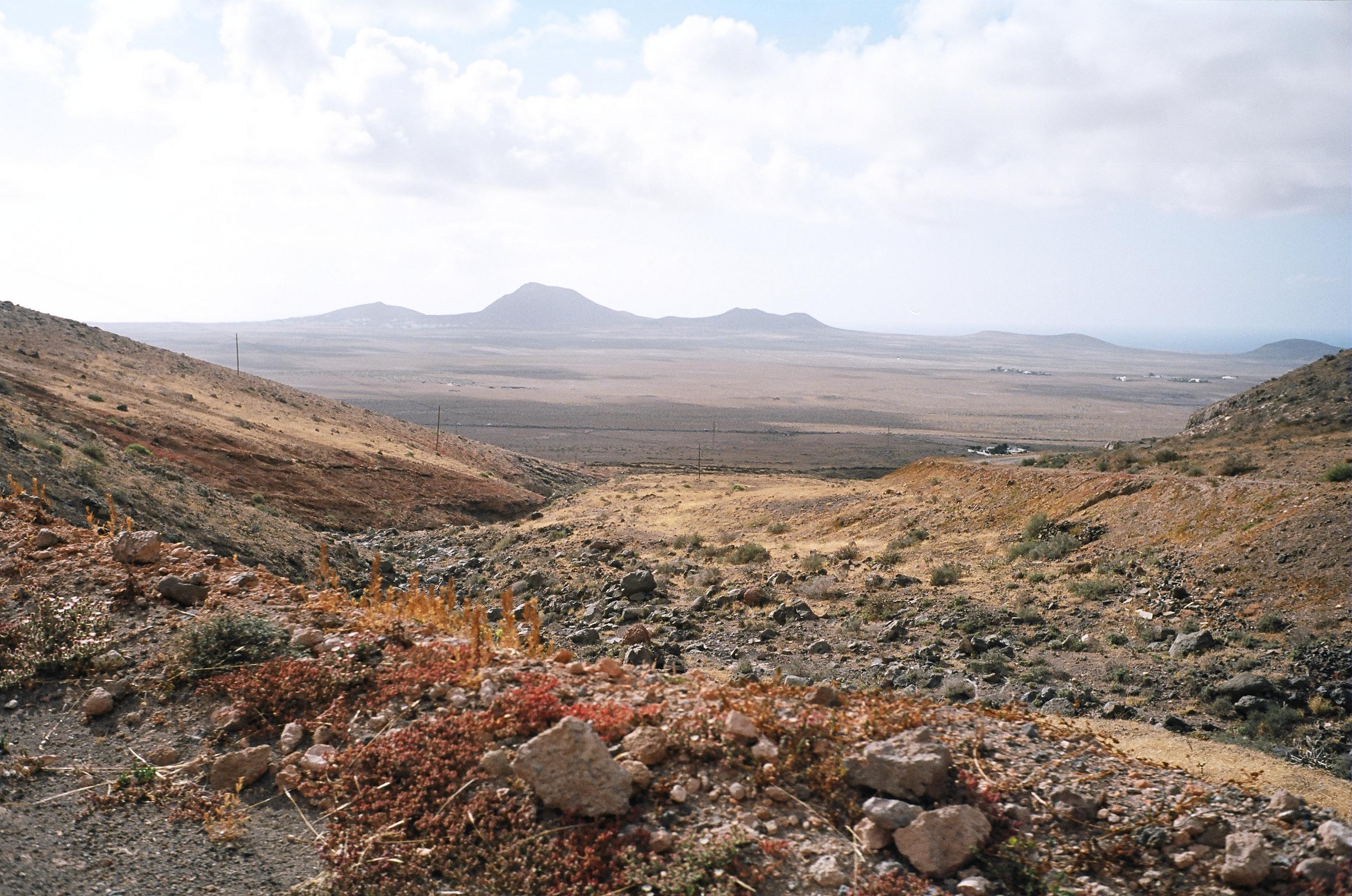 Lanzarote désertique et volcanique
