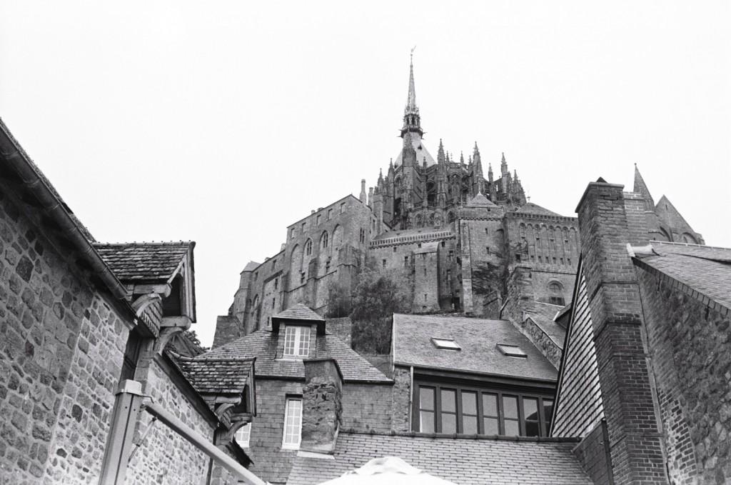 Le Mont Saint-Michel vue depuis les remparts