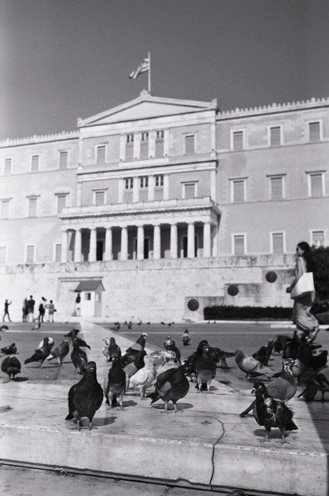 Le parlement grec, place Syntagma