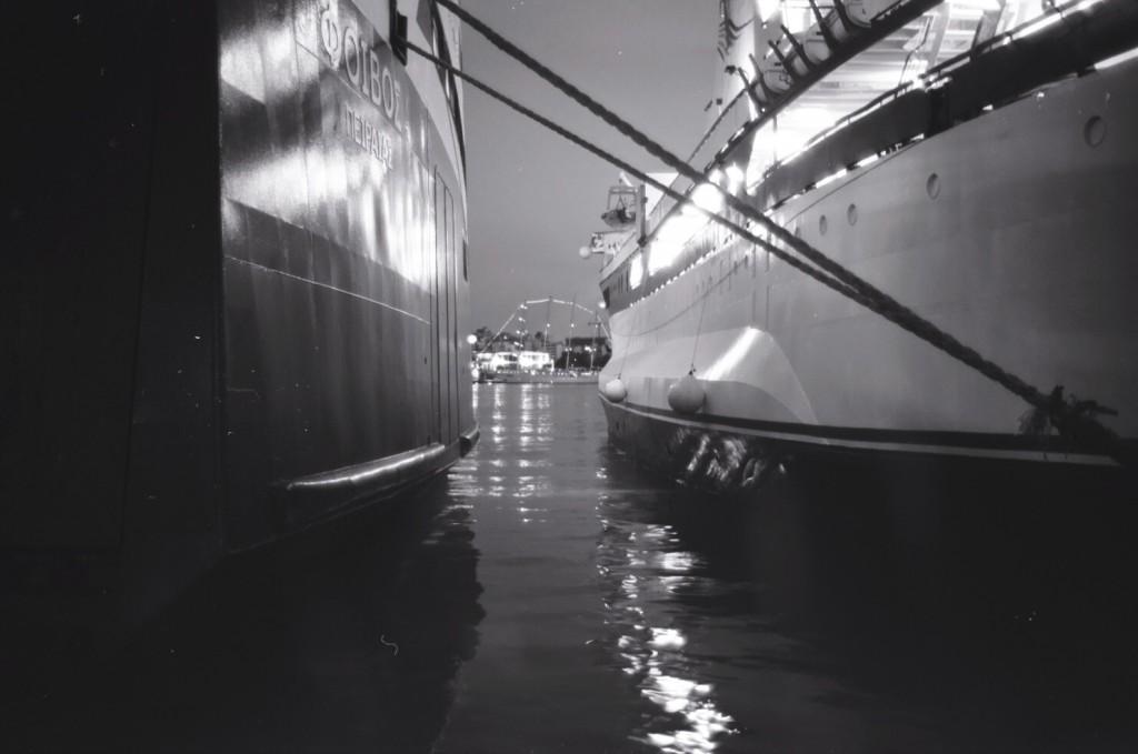 Navires à quai, Port du Pirée