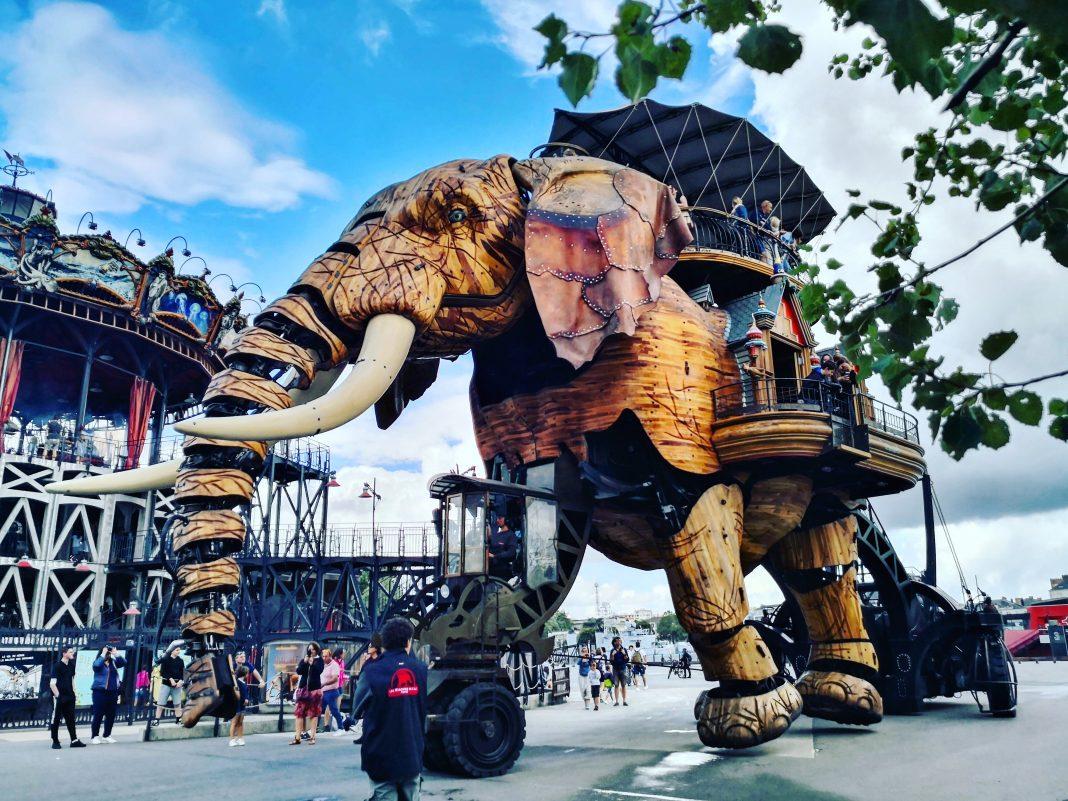 L'éléphant du voyage à Nantes, l'une des choses à faire