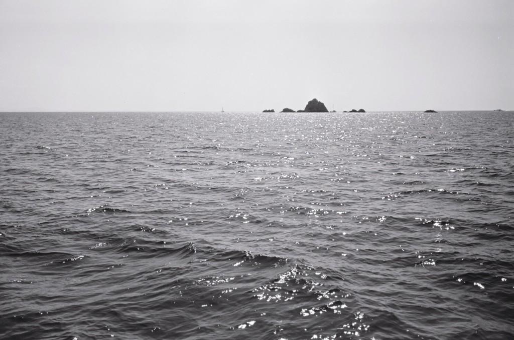 Quelques îlots inhospitaliers dans les lointains