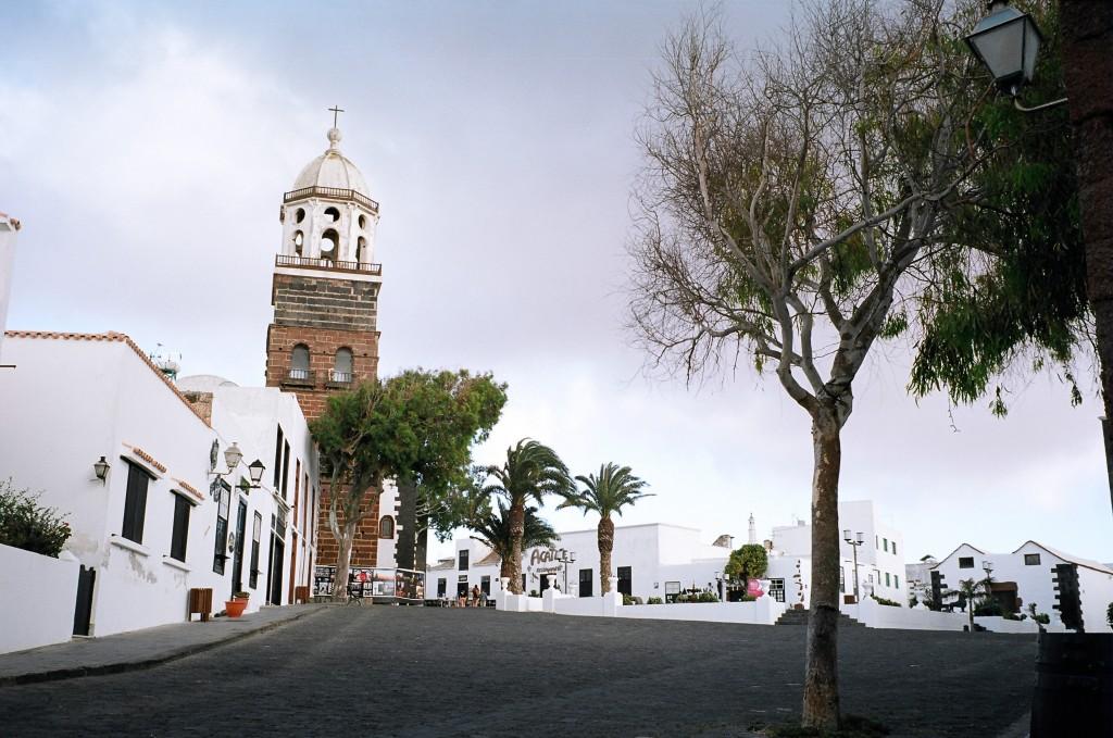 Une église sur l'île de Lanzarote