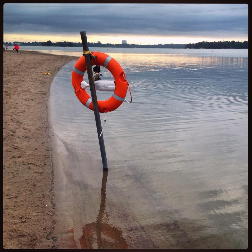 67. Helsinki plage, la prudence règne
