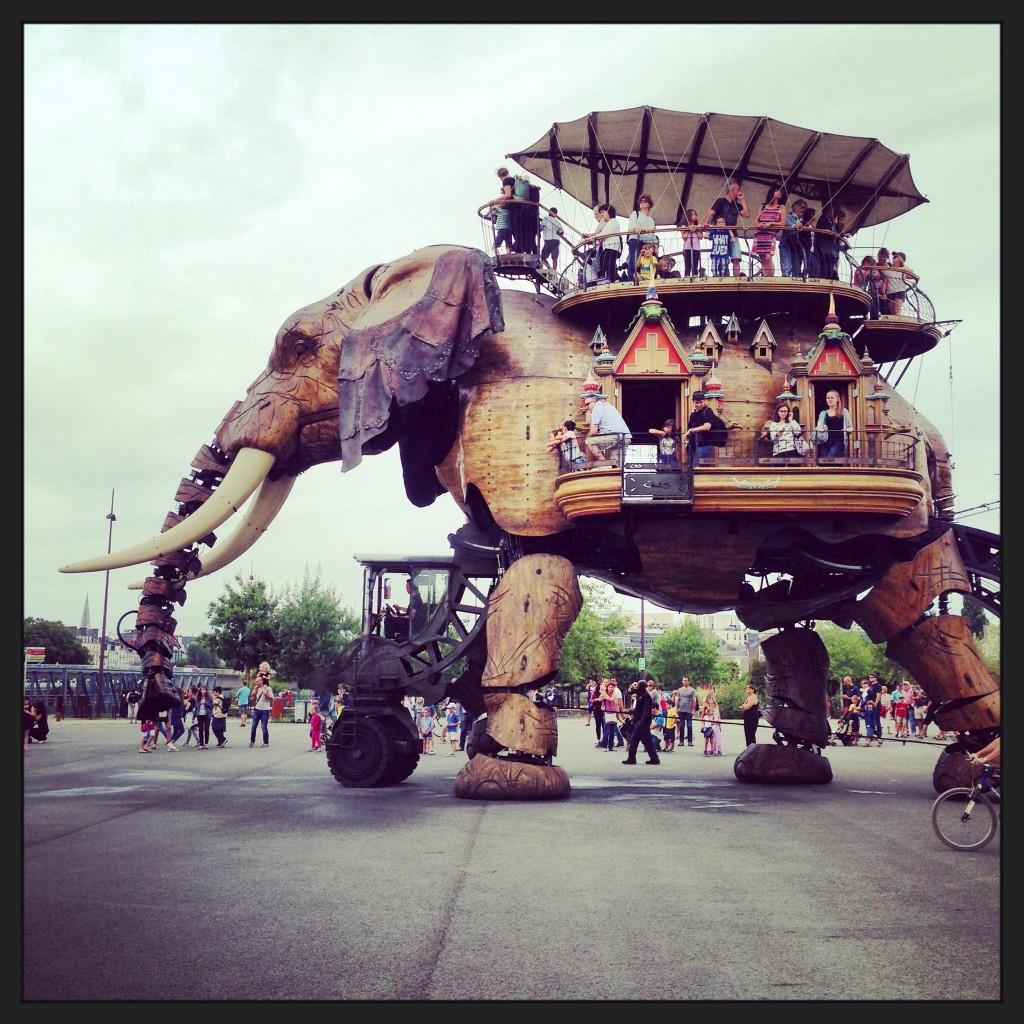 L'éléphant de l'île de Nantes