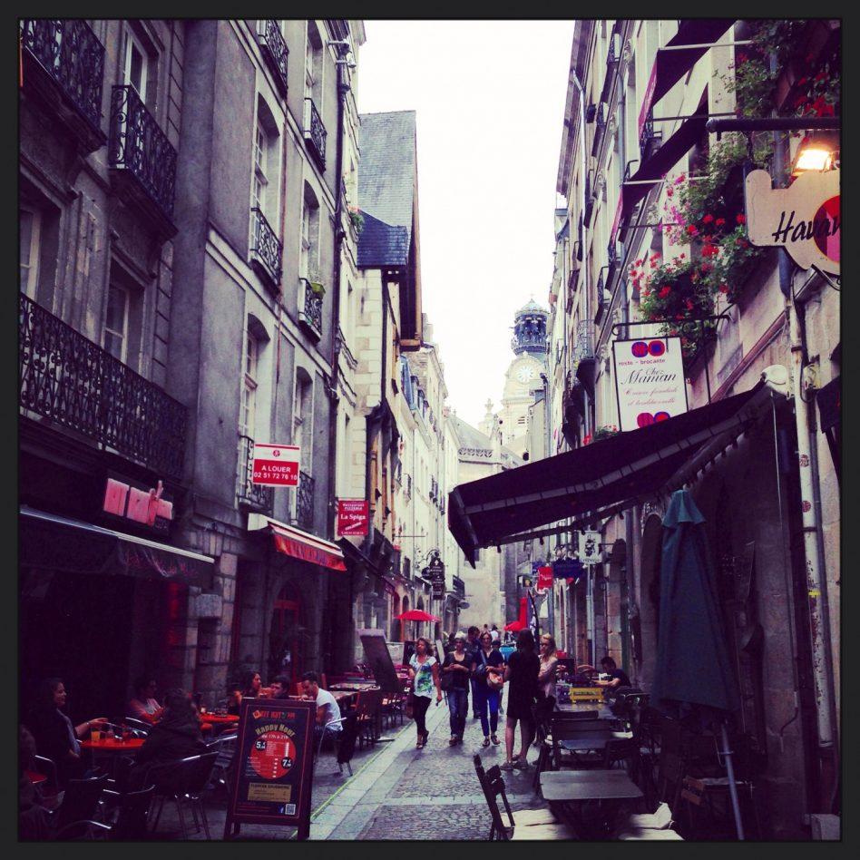 L'un des quartier historique de Nantes