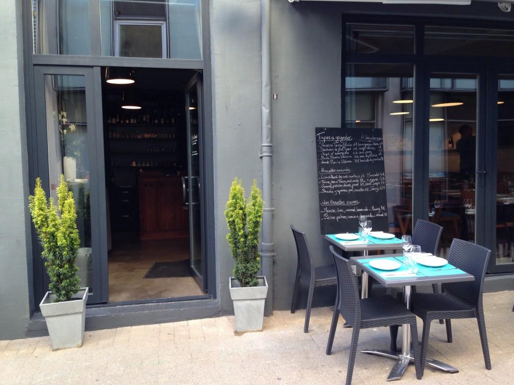 Un peu à l'écart de la place Graslin, le restaurant Le Petit Boucot