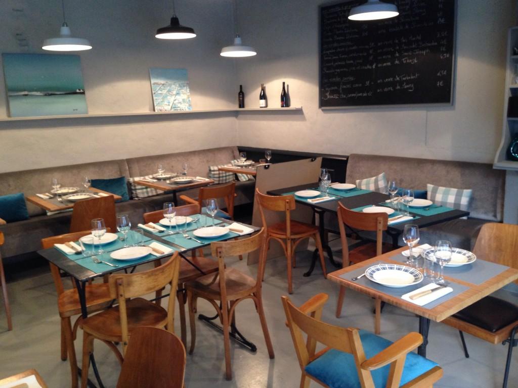La salle de restaurant du Petit Boucot