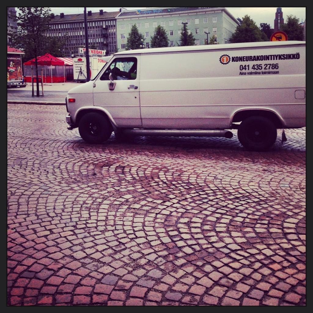 6. Les Finlandais aiment les voitures américaines!
