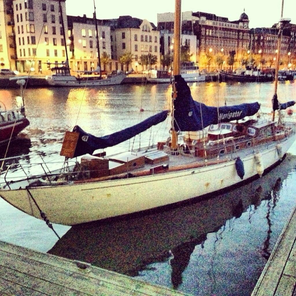 21. Un vieux gréement dans le port d'Helsinki
