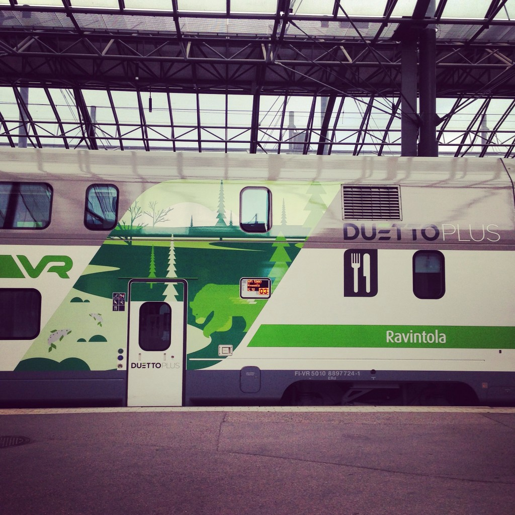 Le train express finlandais