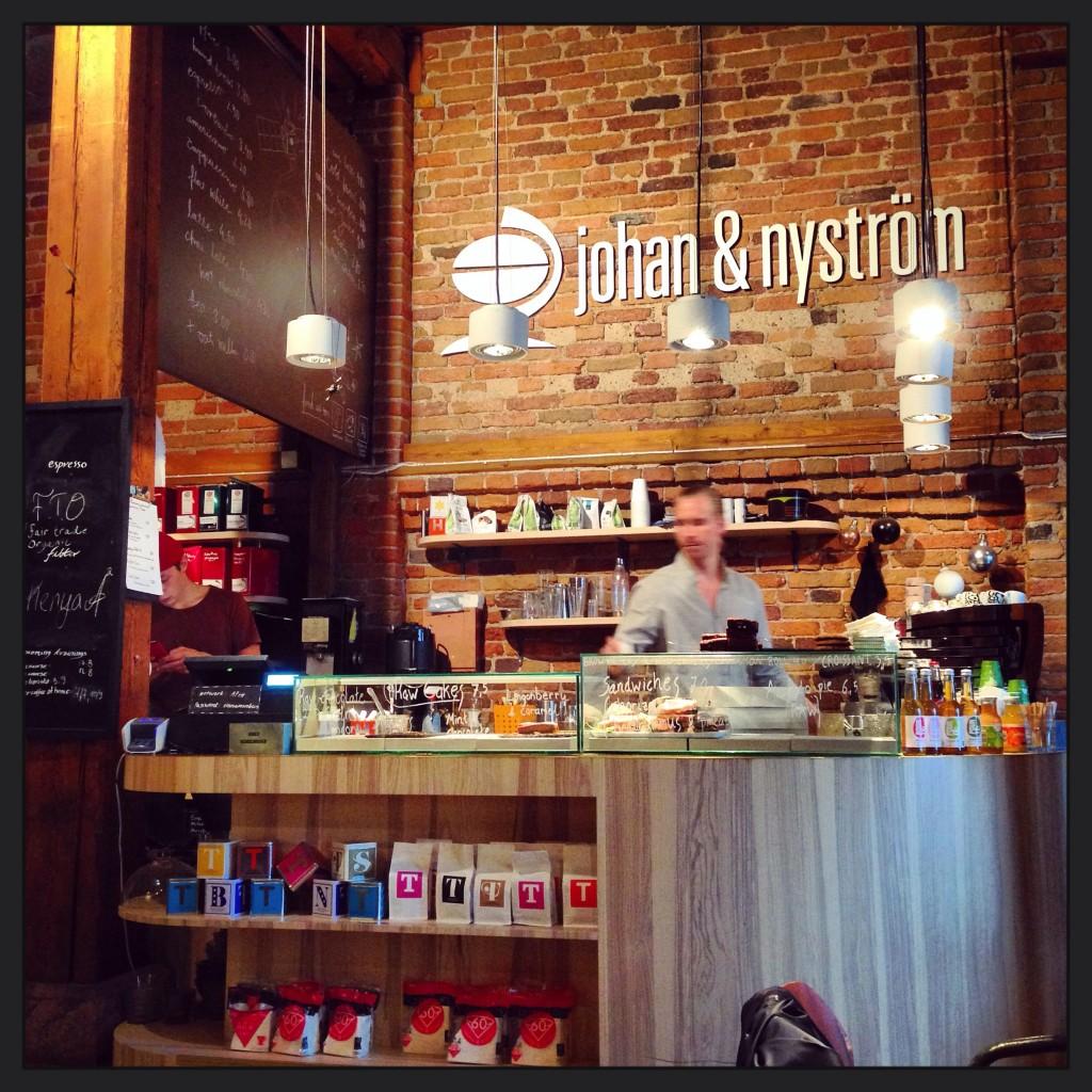 48. Un café très cosy sur les quais, Helsinki
