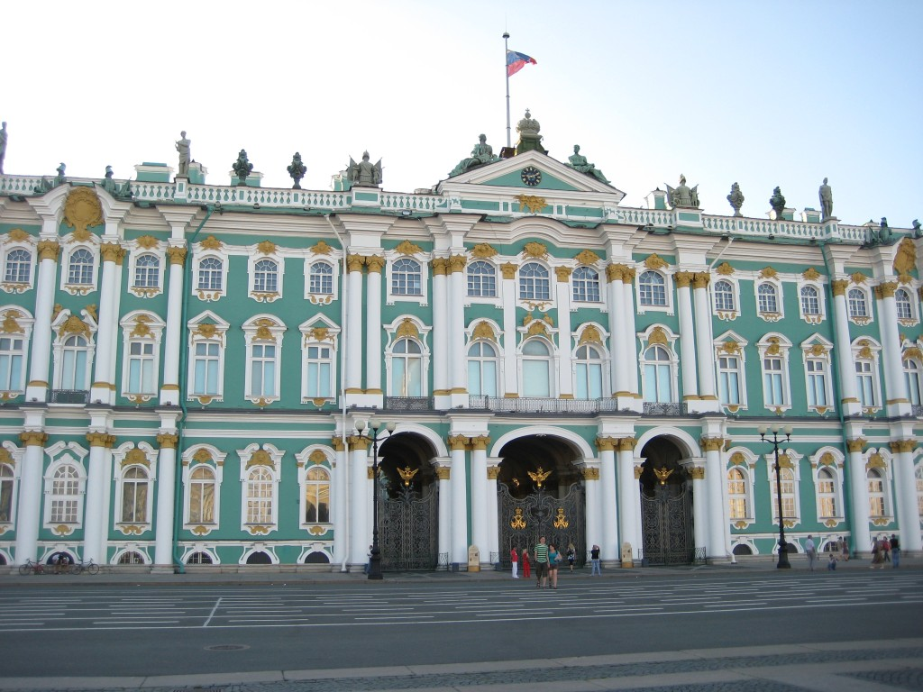 L'Ermitage à Saint-Pétersbourg
