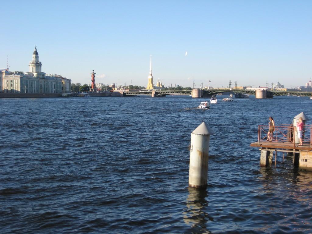 La Neva à Saint-Petersbourg