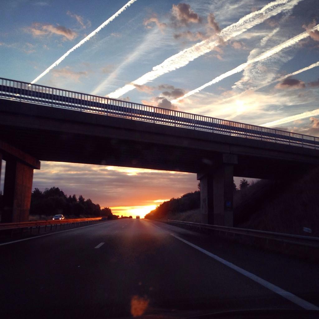 Lever du soleil à 6h30 du matin, France