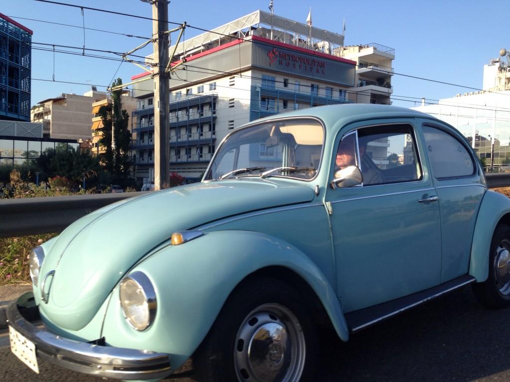Une relique en état de marche, Coccinelle, VW, Athènes