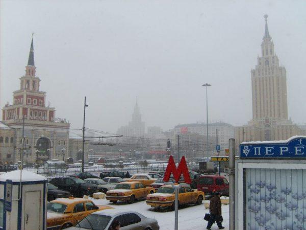 Gare de Kazan à Moscou