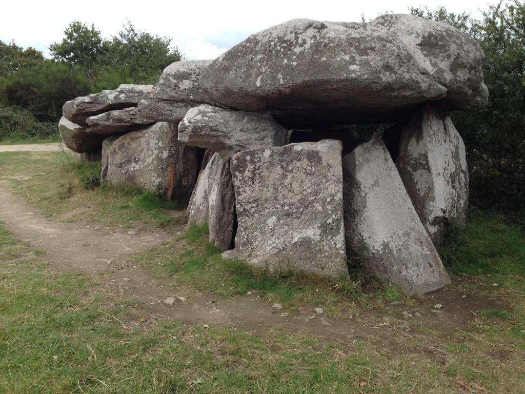 Imposant Dolmen de Kerbourg