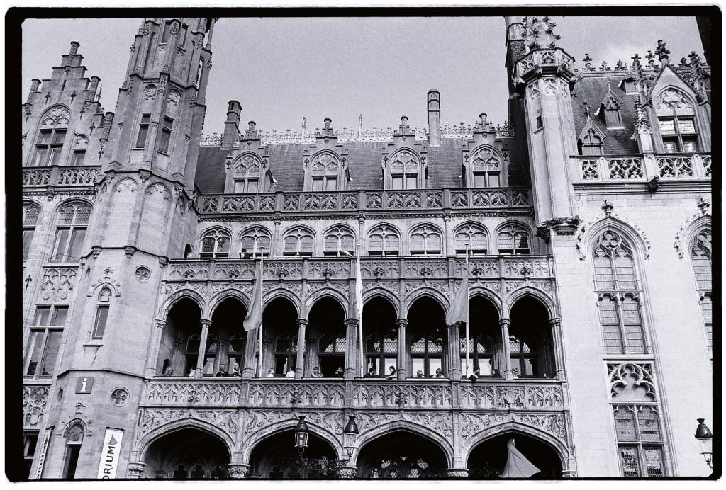 Le Musée d'Histoire sur la place centrale de Bruges