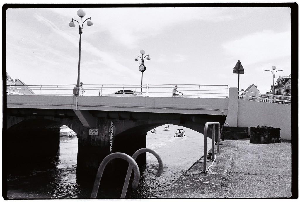 Le pont reliant le Pouliguen à la Baule