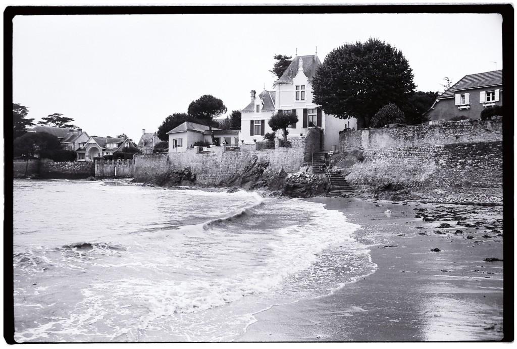 Les superbes villas de la pointe de Penchâteau au Pouliguen