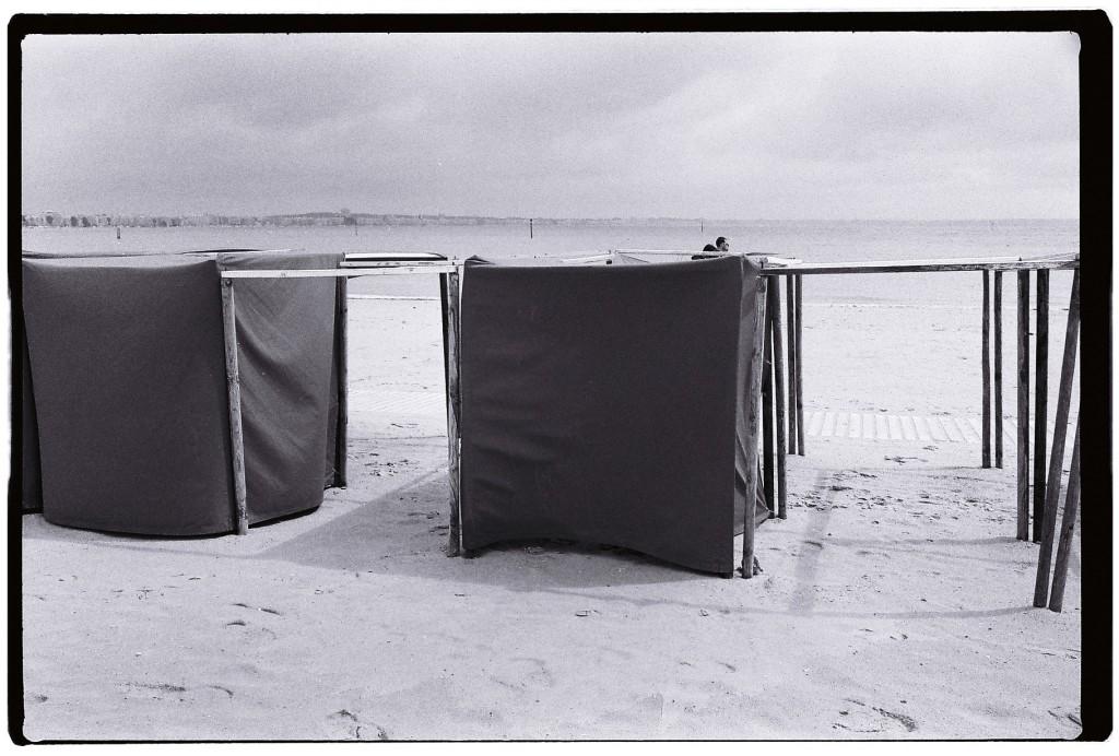 Les tentes de la plage du Pouliguen