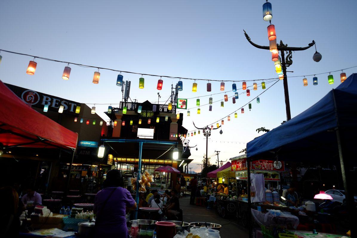 Nan une très jolie ville du nord de la Thaïlande