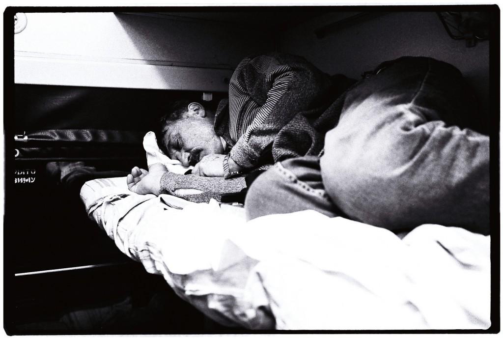 Nuit d'ivresse dans le train entre Saint-Petersbourg et Moscou