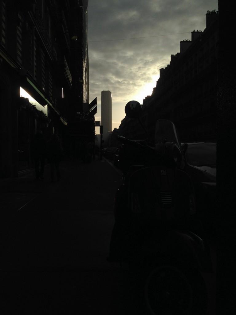 Quand le ciel de Paris devient menaçant