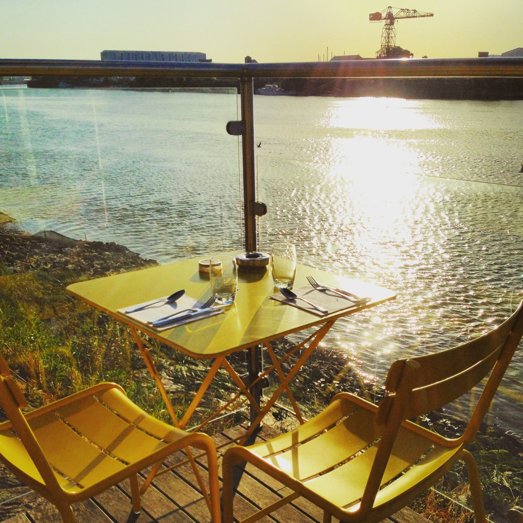 Un tête à tête sur les bords de Loire au restaurant la Civelle