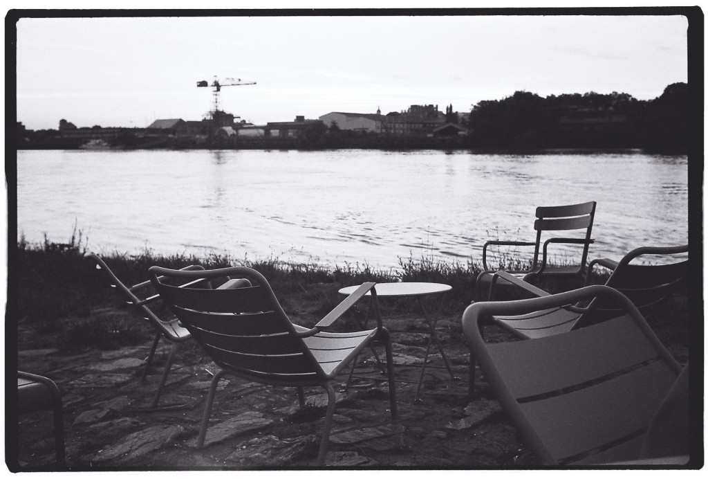 Une paisible fin de journée sur les bords de Loire à Trentemoult