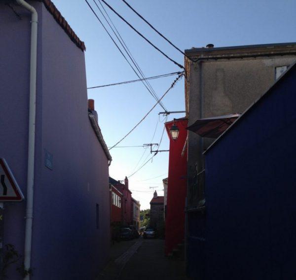 Une rue déserte à Trentemoult