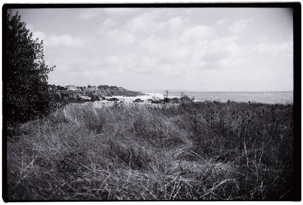Vue sur la côte depuis le chemin des douaniers