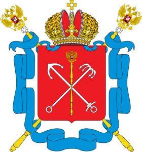 Le blason de Saint-Petersbourg