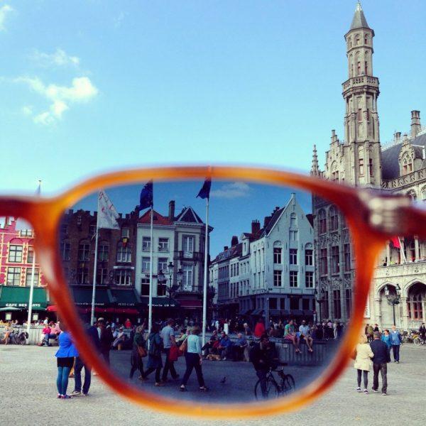 Au soleil à Bruges