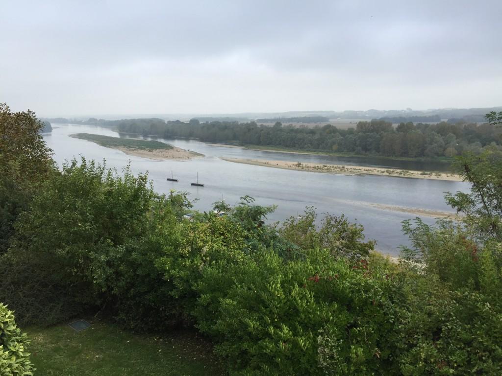 La Loire vue depuis le château de Chaumont