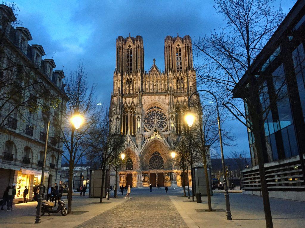 Reims, l'une des plus belles cathédrales de France