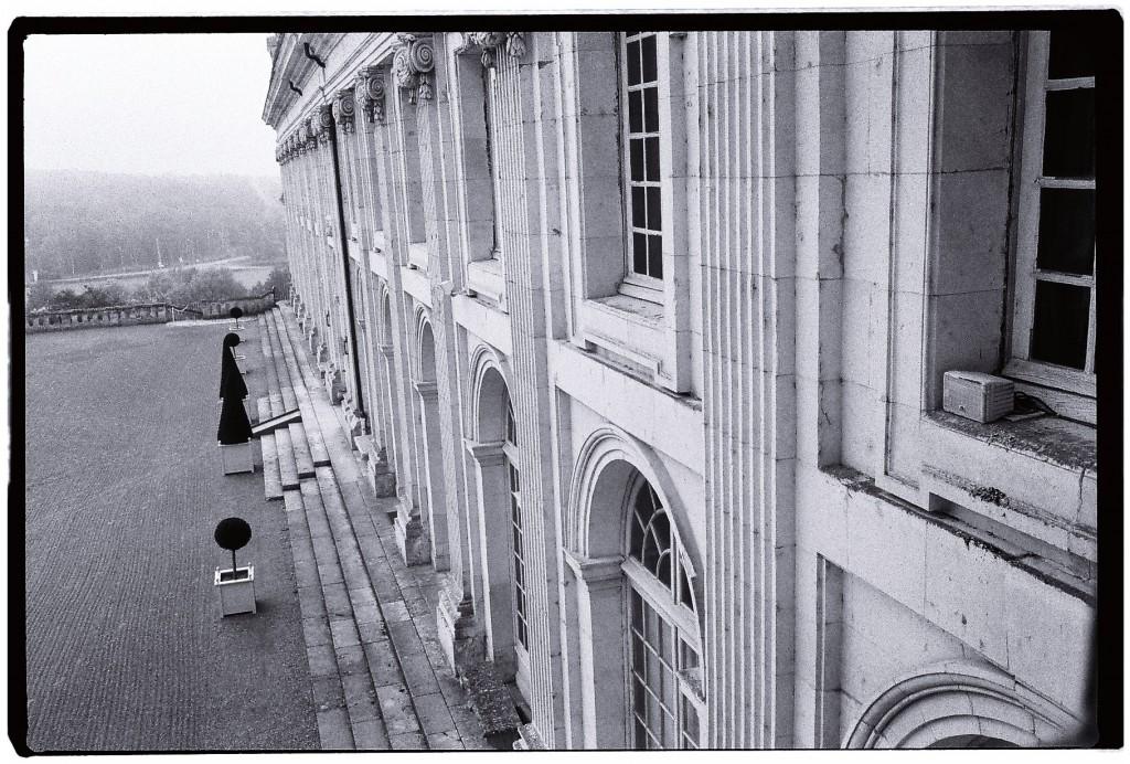 La façade du château de Valençay