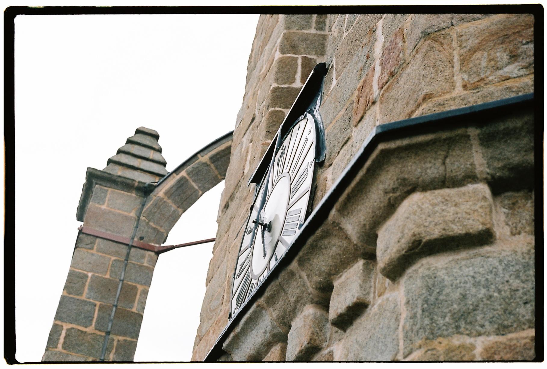 Le cadran de la tour de Batz sur mer